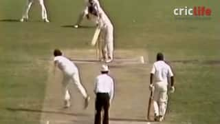 Sandeep Patil's blistering 174 against Australia at Adelaide in 1981