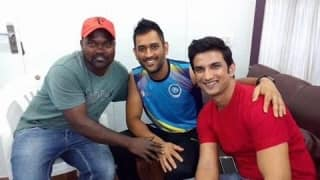 When Dhoni met Dhoni: Reel MSD Sushant Singh Rajput meets the real one