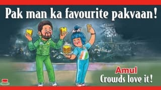 Amul's take on Shahid Afridi's return to form and controversy