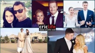 Six cricketers who married journalists