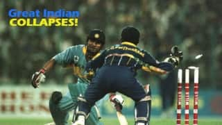 10 infamous batting collapses by Team India