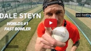 Dale Steyn hits the nets with GoPro