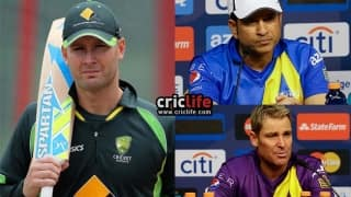 Pup's biting spree continues: Michael Clarke now criticises Sachin Tendulkar and Shane Warne for leaving him out of Cricket All-Stars