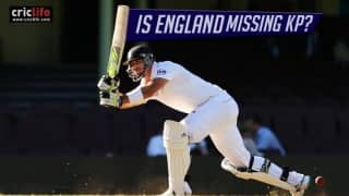 Kevin Pietersen's absence haunting England's batting line-up