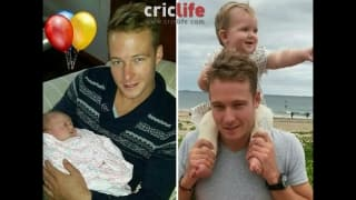 David Miller wishes his niece Grace on her first birthday