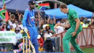 """VIDEO: Morne Morkel hopes Yusuf Pathan's newborn will have many """"on-field battles with his boy"""""""