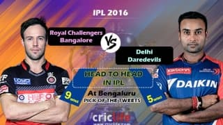 IPL 2016, Match 11, Pick of the tweets: Royal Challengers Bangalore vs Delhi Daredevils at Bangalore