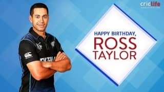 Happy Birthday, Ross Taylor!