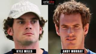 Kyle Mills and Andy Murray