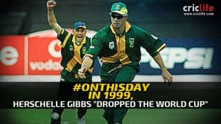 Dropping the World Cup 1999? Here is Herschelle Gibbs' side of the story; still thinks 'it was Out!'