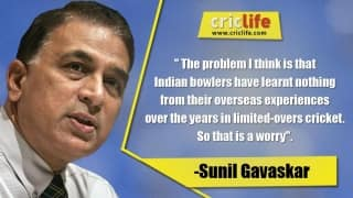 Indian bowlers haven't learnt from their overseas tours: Sunil Gavaskar