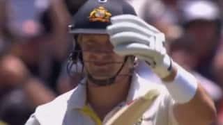 Video: Shane Watson and the art of not getting a DRS call right