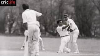 Hanif Mohammad's career in pictures