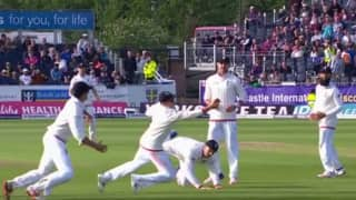 Video: James Vince, Joe Root unite to complete an amazing catch during England-Sri Lanka second Test