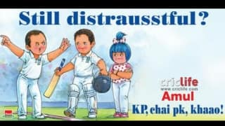 Amul's funny riposte to the Pietersen-Strauss drama