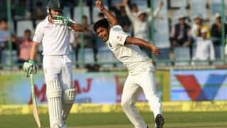 Umesh Yadav cleans up JP Duminy with a beauty: Twitter reactions