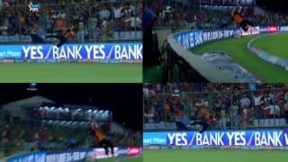 Video: When Ben Cutting's exceptional athleticism saved 5 runs for Sunrisers Hyderabad