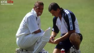 When a dangerous pitch resulted in England-West Indies Jamaica Test being called off in 1998