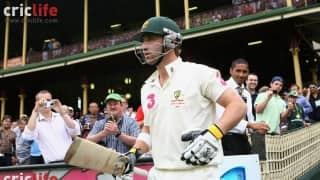 When Phil Hughes wore Michael Clarke's Test shirt