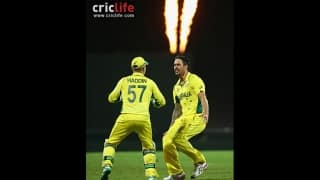 Mitchell Johnson breathes fire as Australia beat India to enter ICC Cricket World Cup 2015 final