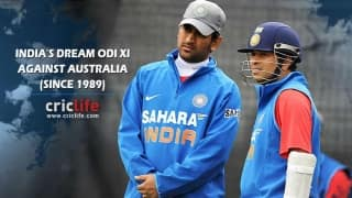 Infographics: India's Dream ODI XI against Australia since 1985