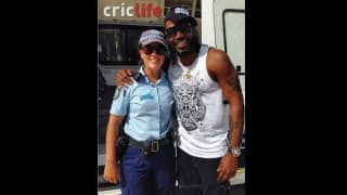 Chris Gayle questioned by police for 'possession of a dangerous weapon'!