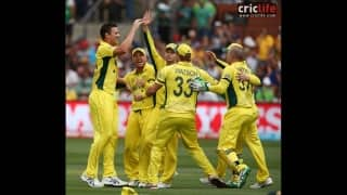 ICC Cricket World Cup 2015: Moods and Moments from Australia vs Pakistan, Adelaide