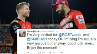 Morne Morkel's jealousy and other reactions from cricket fraternity ahead of IPL 2016 Final