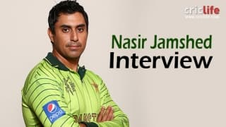 Nasir Jamshed: It's important that I don't make the same mistakes again