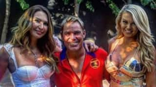 Shane Warne welcomes New Year with a fantasy-themed party