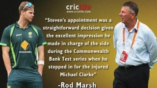 Steve Smith's appointment as captain for fourth ODI was a straightforward decision: Rodney Marsh