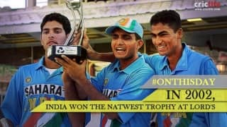 Yuvi-Kaif show guided India to the NatWest Trophy win