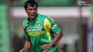 Rubel Hossain granted bail, part of World Cup squad