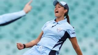 Women's Big Bash cricketer Angela Reakes caught betting on World Cup; banned for two years.