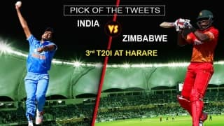 India tour of Zimbabwe 2016, 3rd T20I, Pick of the tweets: Zimbabwe vs India at Harare