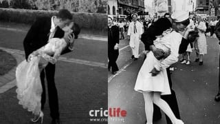 Morne Morkel-Roz Kelly kissing photograph rekindles the historic kiss on Times Square in 1945