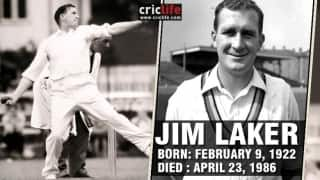 Jim Laker: 23 facts about the Surrey and England legend