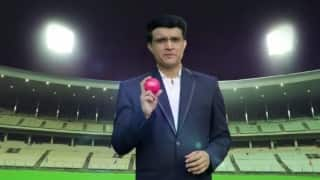 Watch Sourav Ganguly speak on India's first-ever pink ball match at Eden Gardens