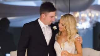 Shaun Marsh gets married to Channel Seven journalist Rebecca O'Donovan