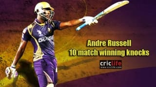 Andre Russell's 10 innings that turned games on its head