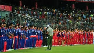 DD and RCB pays tributes to victims of the earthquake