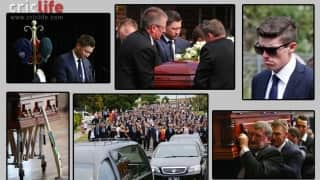 Phillip Hughes' funeral: 13 moments that tugged the heart