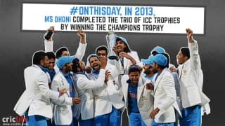 MS Dhoni's blue devils win the Champions Trophy 2013