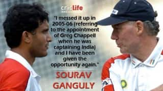 Sourav Ganguly vs Greg Chappell: The battle continues…