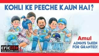 Amul's take on Indian cricket team's over-reliance on Virat Kohli