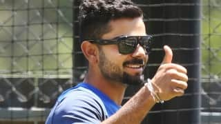 Guess in whose company Virat Kohli enjoyed team dinner in USA!