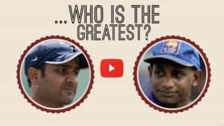 Video: Virender Sehwag or Sanath Jayasuriya, who's the greatest cricketer?