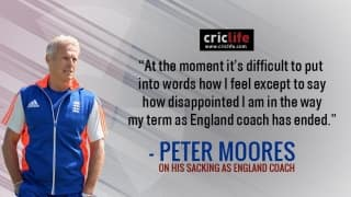 Peter Moores vents out his frustration after getting sacked as England head coach