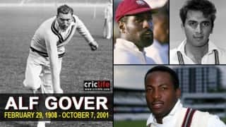 Alf Gover: 13 famous cricketing students of one of game's best player-makers