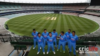 Team India's new ODI jersey unveiled ahead of ICC World Cup 2015